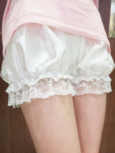 Classic Lolita Bottoms Lace Trim Ruffle Lolita Bloomers