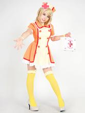 Vocaloid Kagamine Rin Halloween Nurse Cosplay Costume