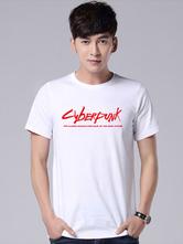 Fasching Cyberpunk 2077 Sommer T Shirt Cosplay T-Shirt Faschingskostüme