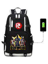 Halloween Fortnite Backpack For Kids Gioco Battle Royale School Bag Camping Hiking Halloween