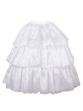 Classic Lolita Petticoats Organza Ruffles White  Lolita Underskirt