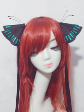 Japanese Anime The Quintessential Quintuplets Cosplay Nakano Nino Butterfly Black Hair Accessory Halloween