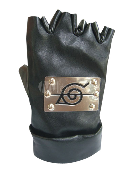 Naruto Ninja Hidden Leaf Village Gloves Halloween