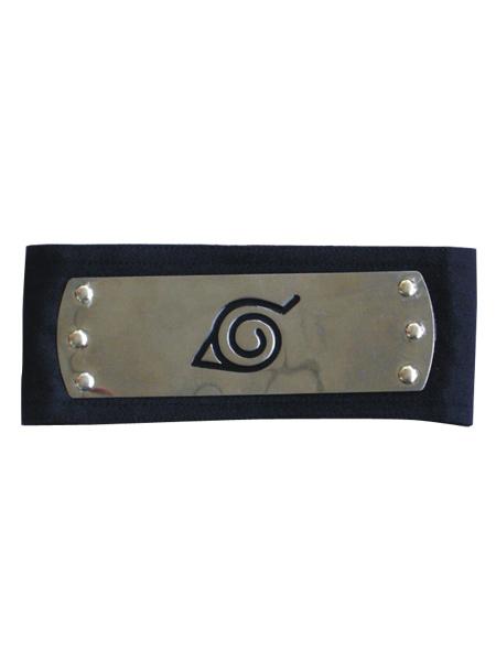 Buy Naruto Ninja Leaf Village Headband Black Cosplay Halloween for $3.59 in Milanoo store