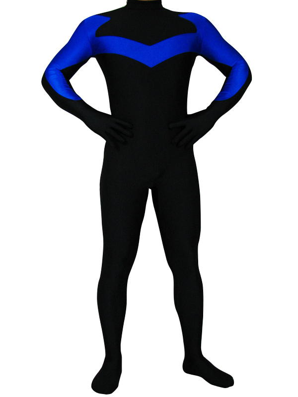Black Lycra Spandex Catsuit Halloween Costume Cosplay Halloween