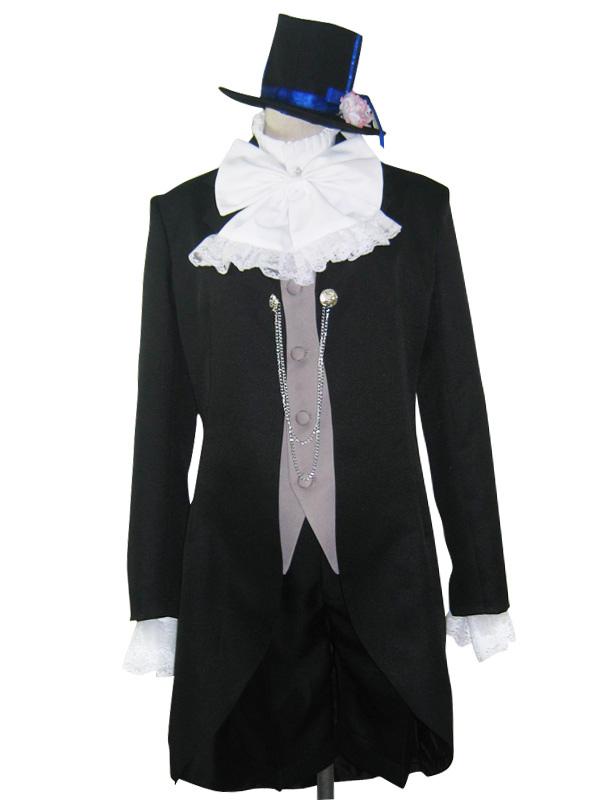 Black Butler Kuroshitsuji Ciel Halloween Cosplay Costume Halloween