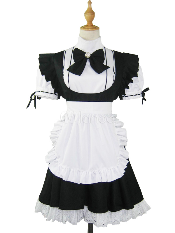 Maid Cosplay Costume Halloween