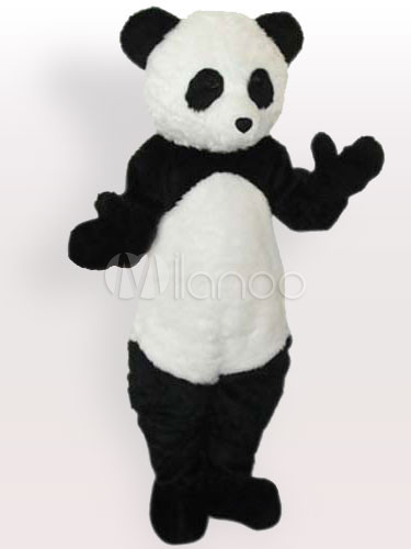 ... Plush Panda Adult Mascot Costume-No.4 ... & Plush Panda Adult Mascot Costume - Milanoo.com