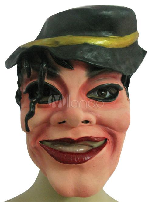comparer les prix le meilleur couleurs harmonieuses Latex halloween masque de Michael Jackson