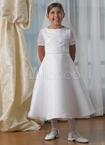 Vestidos primera comunion de organza