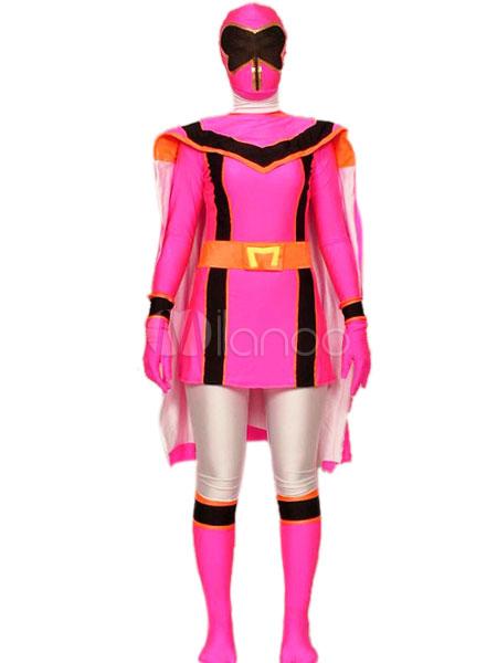 Halloween Power Rangers Spandex Lycra Super Hero Costume Halloween