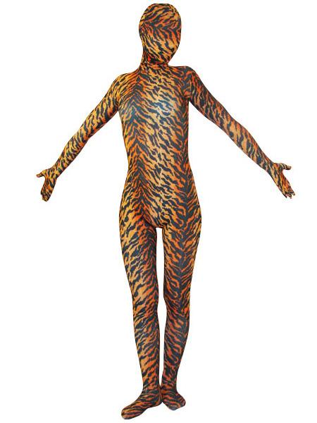 Halloween Tiger Zentai Suit Animals Lycra Spandex Unisex Full Bodsuit Halloween
