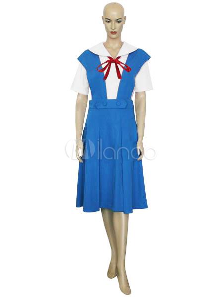 Neon Genesis Evangelion Asuka Cosplay Costume Halloween