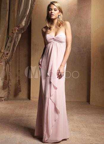 Robe de soiree style empire