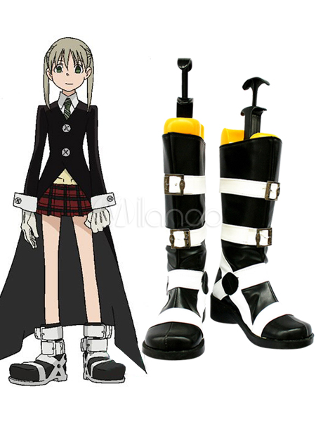 soul eater maka imitated leather foam cosplay shoes halloween