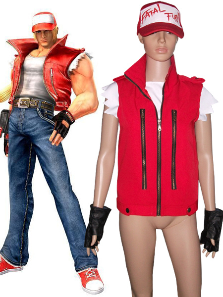 The King Of Fighters Terry Bogard Cosplay Costume Halloween