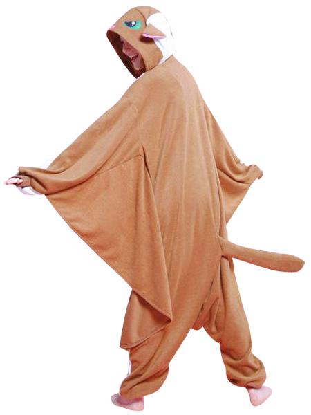 49a7001f51e6 ... Kigurumi Pajamas Flying Squirrel Onesie For Adult Animal Costume  Halloween-No.3