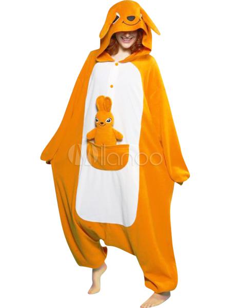 Kigurumi Pajamas Kangaroo Onesie For Adult Flannel Animal Costume Halloween-No.1 ...  sc 1 st  Milanoo.com & Kigurumi Pajamas Kangaroo Onesie For Adult Flannel Animal Costume ...