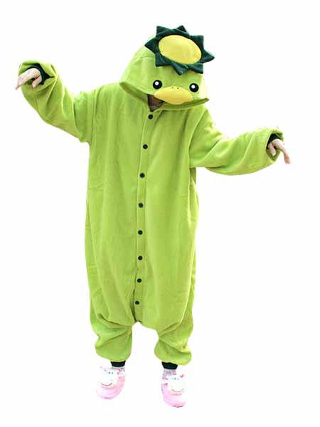 2fdec3a880 Kigurumi Pajamas Kappa Onesie For Adult Green Animal Costume Halloween-No.1  ...