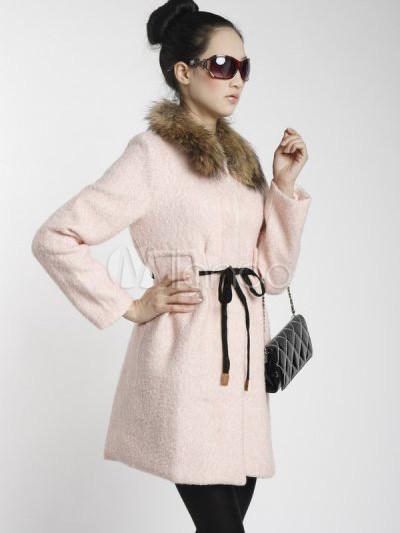 Femme Rose Rose Manteau Rose Femme Manteau Manteau Pour Pour Pour 4Rj5LA