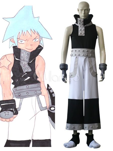 Soul Eater Black Star Cosplay Costume Halloween