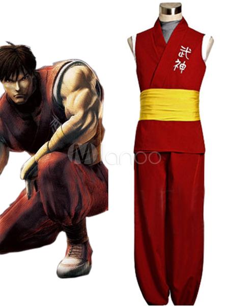 Buy Street Fighter Zero 3 Guy Cosplay Costume Halloween for $85.49 in Milanoo store