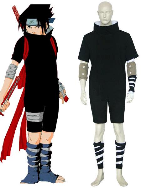 Naruto Uchiha Sasuke Halloween Cosplay Costume  Halloween