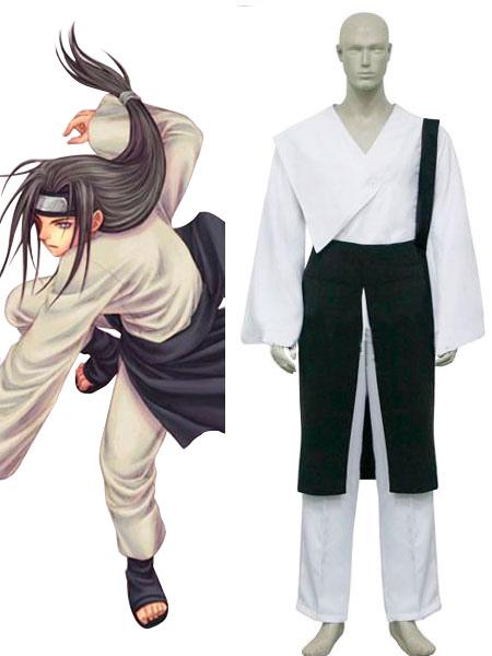 Naruto Shippuden Hyuuga Neji Cosplay Costume Halloween