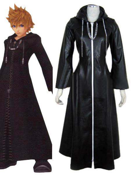 Kingdom Hearts Organization XIII Roxas Cosplay Costume Halloween