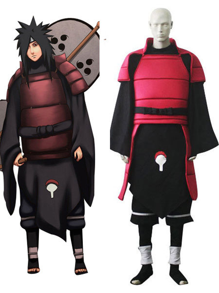 Naruto Madara Uchiha Cosplay Costume Halloween