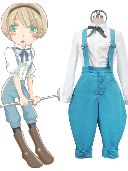 Axis Powers Hetalia Ukraine Halloween Cosplay Costume   Halloween