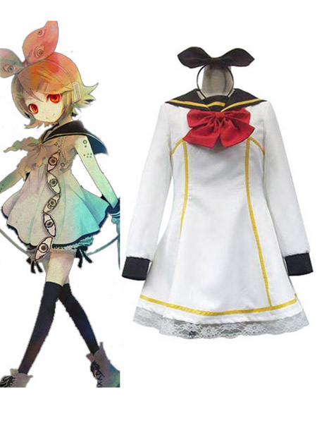 Vocaloid Kagamine Rin Halloween Cosplay Costume Halloween