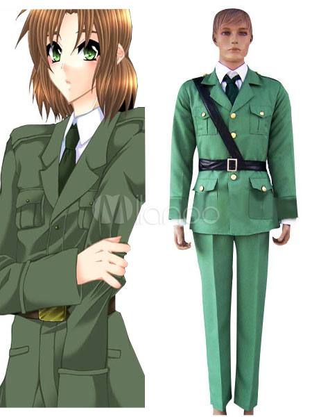Axis Powers Hetalia Lithuania Halloween Cosplay Costume Halloween