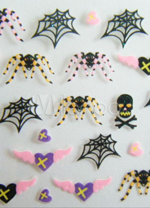 Cute PVC 1-Piece Nail Stickers Cheap clothes, free shipping worldwide