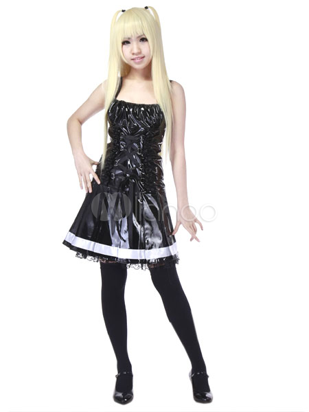 Death Note Amane Misa Halloween Gothic Dress cosplay costume Halloween