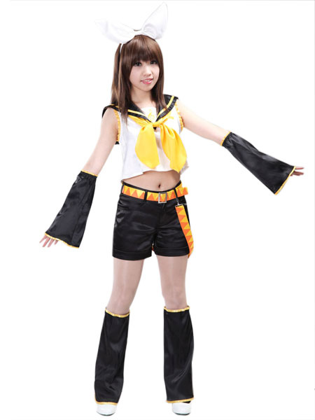 Vocaloid Kagamine Rin Cosplay Costumes Halloween