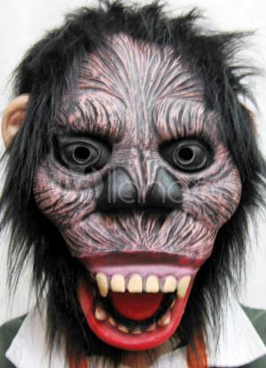 Latex Halloween Chimpanzee Scary Mask