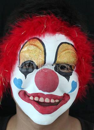Lustige Clown Latex Halloween Maske