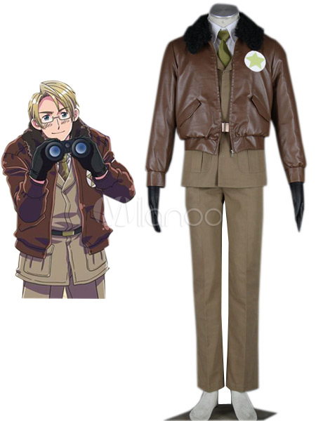 Axis Powers Hetalia American Halloween Cosplay Costume Halloween
