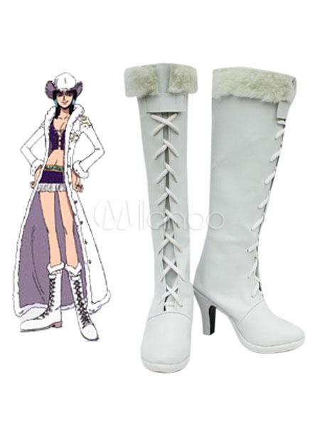 One Piece Nico Robin Cosplay Shoes Halloween