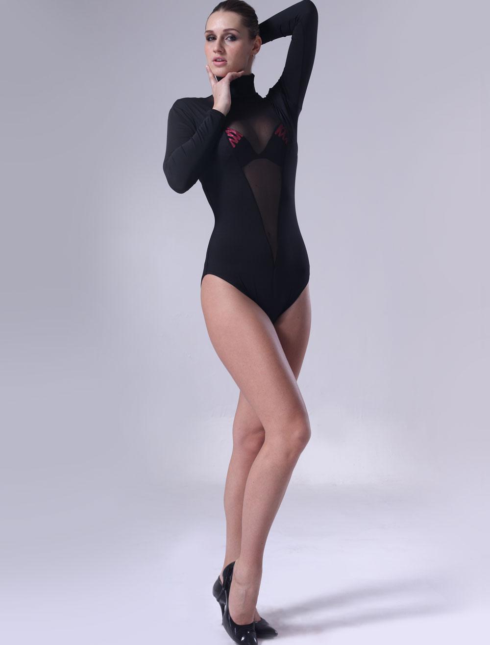 Halloween Black Lycra Catsuit For Women Halloween