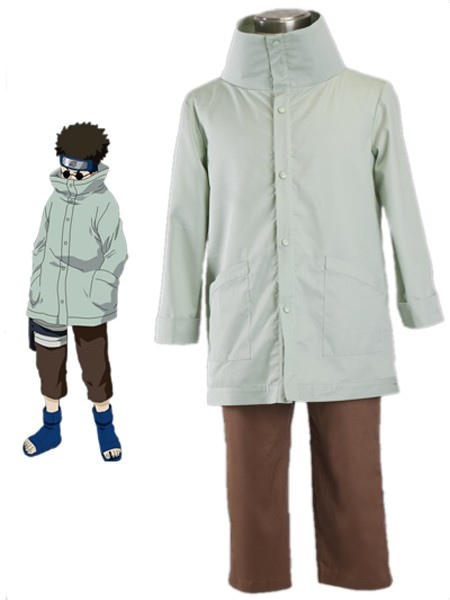Buy Naruto Yunyo Shino 1th 65% Cotton 35% Polyester Cosplay Costume Halloween for $45.89 in Milanoo store