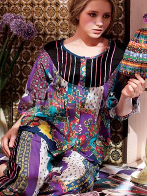 la meilleure attitude b220b ec693 Confortable cou 100% coton à motifs ronde pyjama femmes Sets