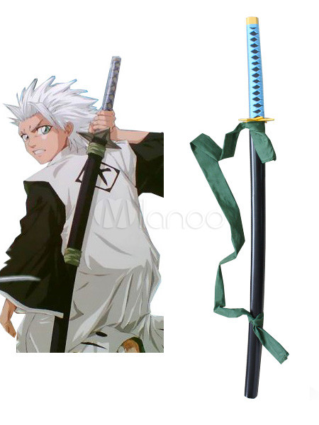Fantastic 40 1 2 Bleach Hitsugaya Toushirou Hyourinmaru Wood Samurai Sword Milanoo Com