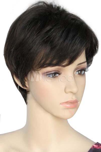 Perruque souple tendance, femme, cheveux