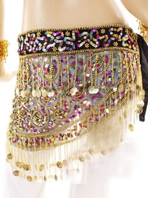 Belly Dance Costume Skirt Beautiful Net Beads Bollywood Dance Bottom