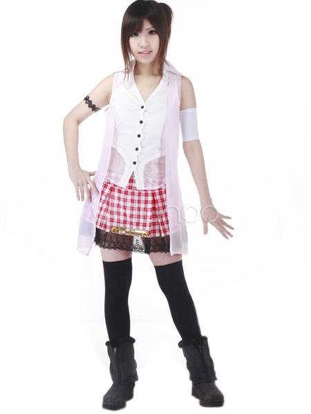 Final Fantasy XIII Serah Cosplay Costume Halloween