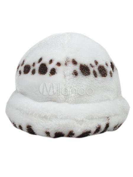 Buy One Piece Trafalgar Law Cosplay Hat Plush Halloween for $15.29 in Milanoo store