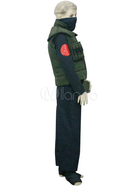 Uniform Cloth Naruto Hatake Kakashi Kids Deluxe Cosplay