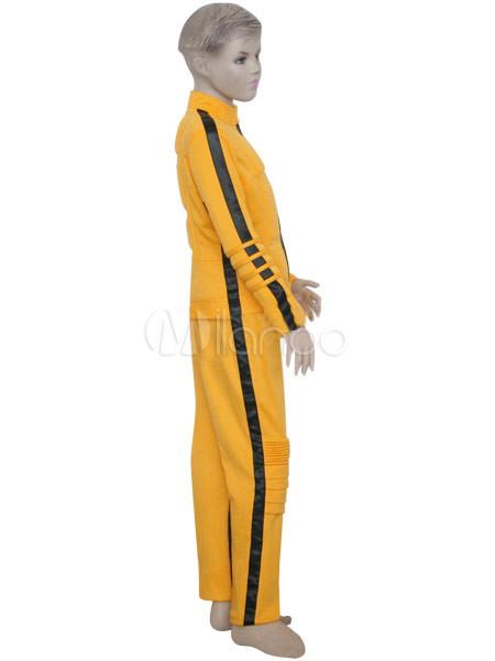 gelb und schwarz uniform cloth kill bill die braut kids. Black Bedroom Furniture Sets. Home Design Ideas